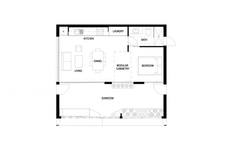 Décrit par ArchiBlox comme la première maison préfabriquée positif en carbone du monde, la maison est conçue pour produire plus d'énergie que ce qu'elle