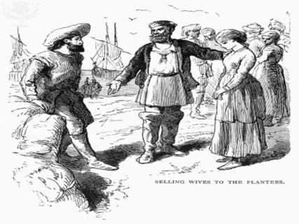 Indentured Servants In addition to the black slaves from ...  |Indentured Servants From England