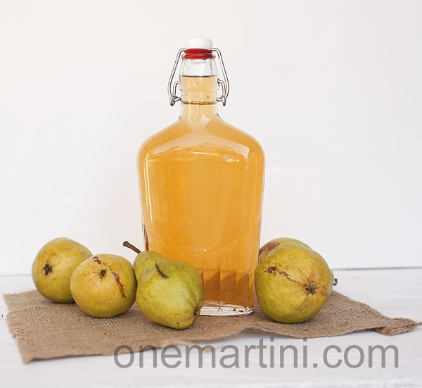 Spiced pear vodka how to make this infused vodka for for Pear vodka mixed drinks