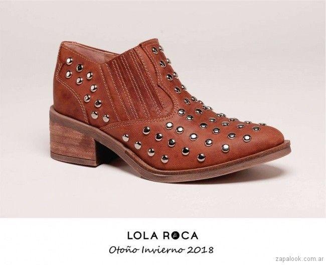 35715d40b5 botitas texanas invierno 2018 - Lola Roca