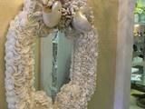 Pearl of the sea Mirror - tropical - mirrors - miami - by Stephanie Ferguson Designs, Inc.