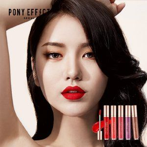 [PONY EFFECT] Stay Fit Mat Lip Color - Korean Online Shopping, 11Street