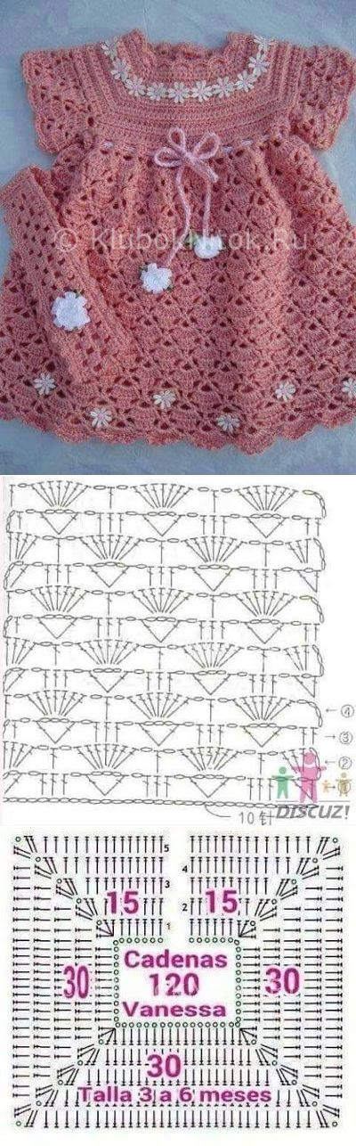 12 best Patrones images on Pinterest | Patterns, Crochet ideas and ...