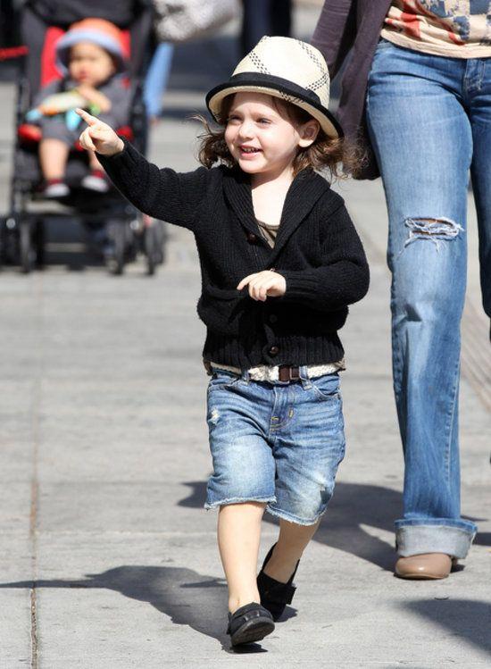 Rachel Zoe's son  Skyler Berman