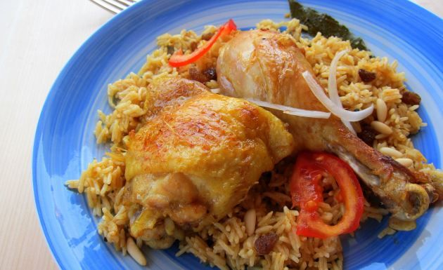 pressure cooker chicken and rice - amazing! definitely use thigh again but maybe not the drumsticks...