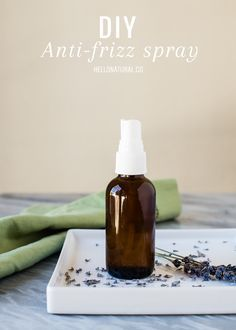 DRY HAIR REPAIR: DIY Anti Frizz Spray   Moisturizing Mask