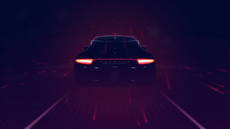 """Particles and fragments of light slip by in a stream of time and space to portray the compelling experience of driving. »Porsche BlackBox« reimagines this connection by visualizing racing data as ephemeral imagery and generative animation in real-time."" – onformative"
