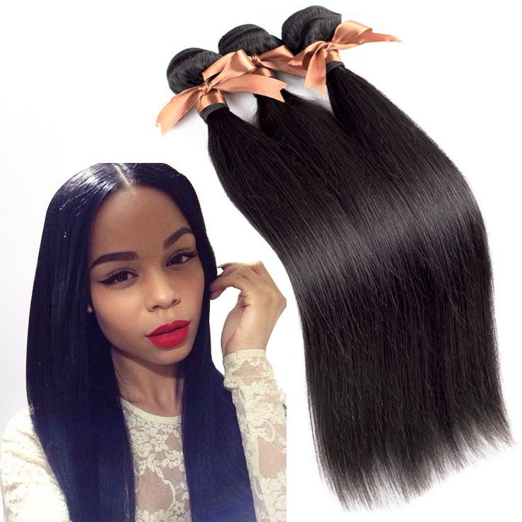 Peruvian Virgin Hair Straight 3 Pcs 7A Unprocessed Virgin Peruvian Straight Hair 7A Hair Products Cheap Human Hair Extension