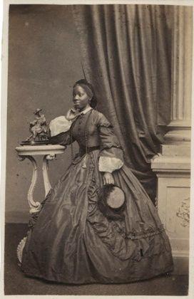 The black Victorians: astonishing portraits unseen for 120 years Sara Forbes Bonetta. Brighton, 1862.