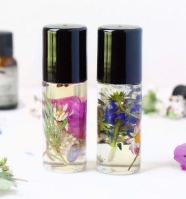 DIY Perfume roll-on - chemical free nature cosmetics // Roll-on parfüm készítése házilag egyszerűen - natúr kozmetikum // Mindy - craft tutorial collection