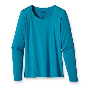 Patagonia Women's Capilene® 1 Silkweight Stretch Crew $35.00 @ patagonia: Patagonia Women, Women Capilen, Woman, Birches White, Products
