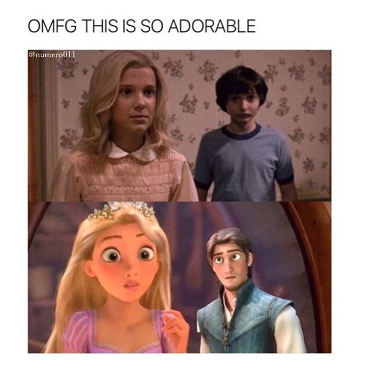In think that they coped!! The girl with magical powers and a boy who falls in love.