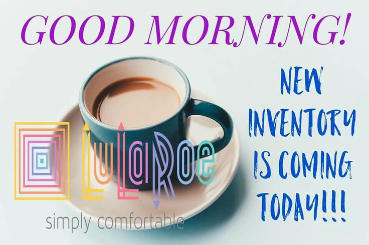 Good morning! New inventory today! #TrinityLuLaRoe