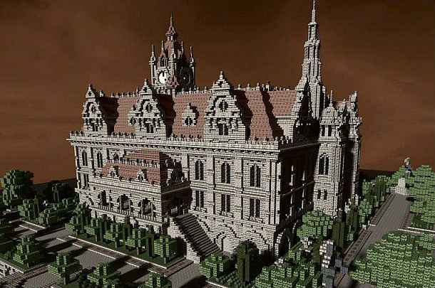 Renaissance Palace Minecraft World Save