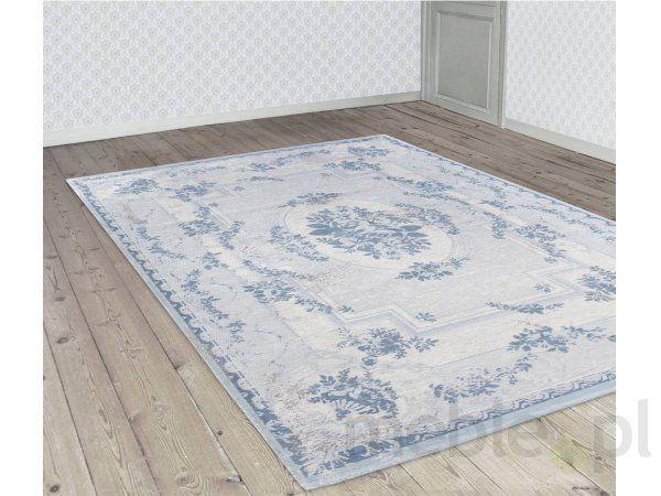 Dywan Nordic Blue 76x300cm Louis De Poortere 8241-7-30