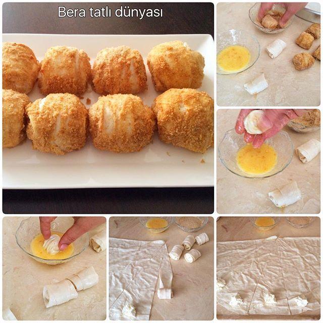 Günaydınlar ❤️❤️Galete unlu top böreğim yapımı kolay yemesi çok nefis bakıp…