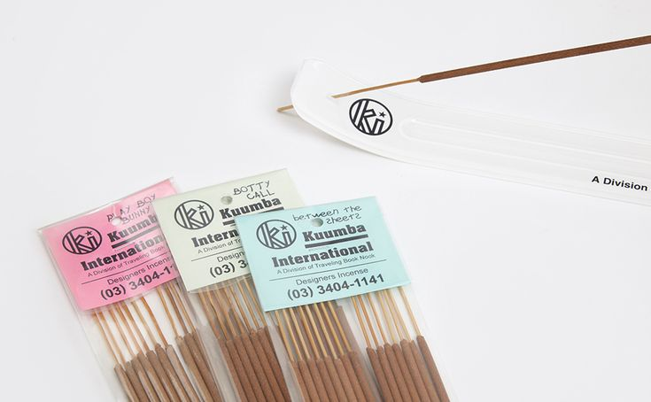 SET THE TONE - Set the tone of the day with Kuumba's brilliantly named incense.
