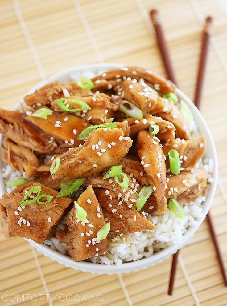 The Comfort of Cooking » Slow Cooker Teriyaki Chicken