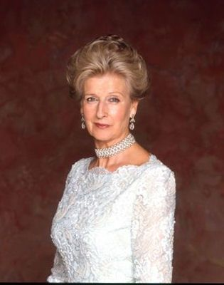 Princess Alexandra of Kent,only daughter of Princess George, former Duke of Kent.SHe's also a first cousin of Queen Elizabeth II.