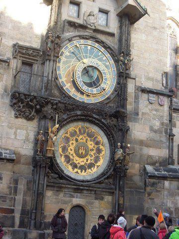 Astronomical clock......... Prague