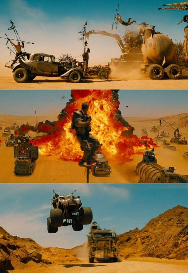 Mad Max- Fury Road. Coming this May 2015 in 2D and in 3D.