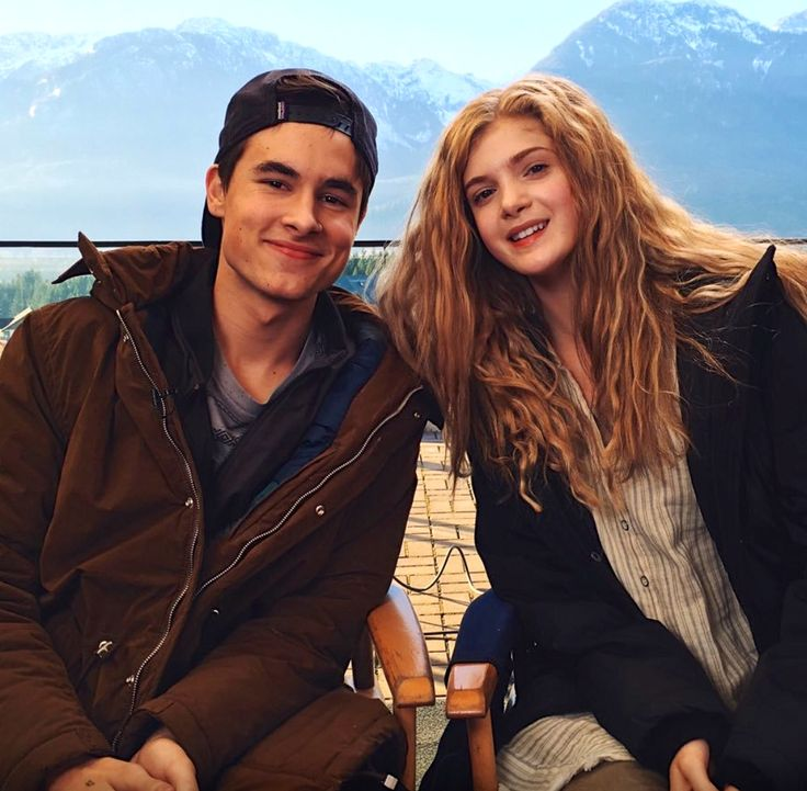 Feeling Majestic on the set of Before I Fall with Kian Lawley and Elena Kampouris