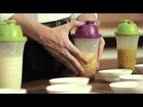 Even though it's in Portuguese, these recipes are awesome & quite easy!  Tupperware Quick Shake Uses