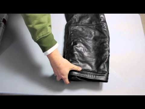 ▶ how to fold chaps | how to roll a chap pack - YouTube