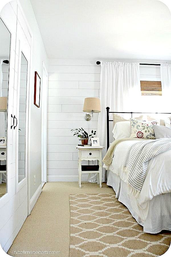 Farmhouse Touches  (via Our Master Bedroom Makeover: The Reveal!