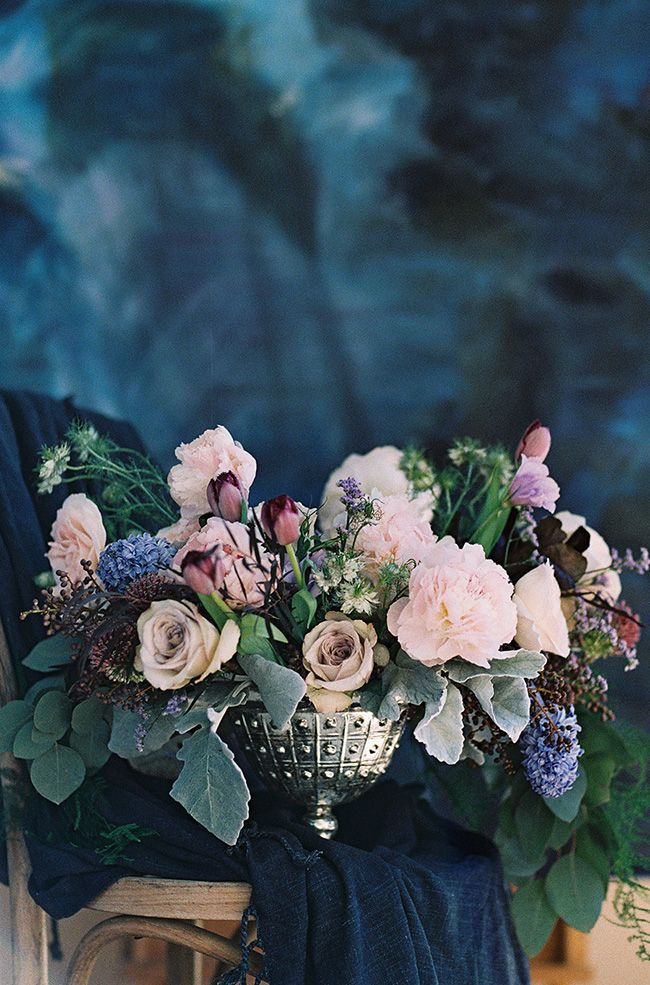 Moody Indigo Wedding Inspired by Dark and Light - Utterly Engaged