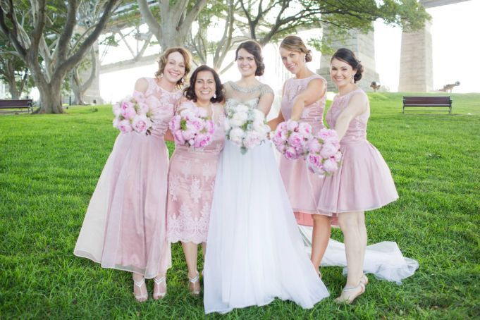 Bride's party, more Peonies!!