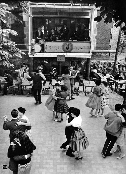 Le bal 1950 Paris Nico Jesse