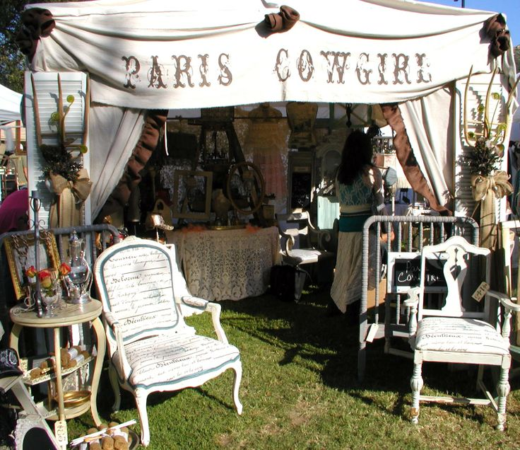 Paris Cowgirl / Photo's of Our June TVM 2012 Show Early Friday Morning Before We Opened