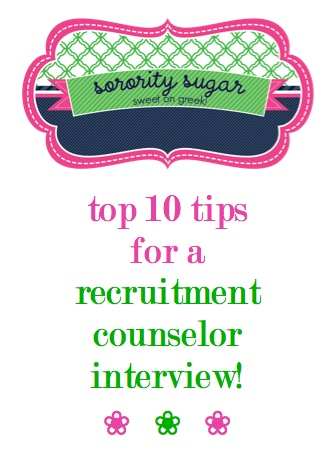 are you considering becoming a rho gamma - gamma chi - recruitment counselor? check out the sorority sugar tips for a better rho gamma interview or application! <3 BLOG LINK: http://sororitysugar.tumblr.com/post/45290267765/rho-gamma-gamma-chi-interview-tips#notes