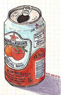 san pellegrino blood orange by petescully, via Flickr