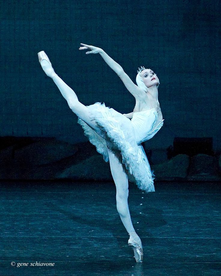 "Ulyana Lopatkina, Mariinsky, ""Swan Lake"" - Photo by Gene Schiavone"