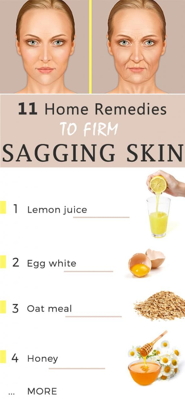 Home remedies for sagging skin Naturally