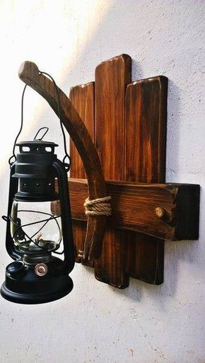 Homeowners looking to add some vintage appeal to their interior decor are  in luck, because. Wood LightingWood Furniture DiyRustic ...