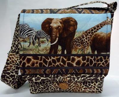 BaRb'n'ShEll Creations -  Elephant Bag - BaRb