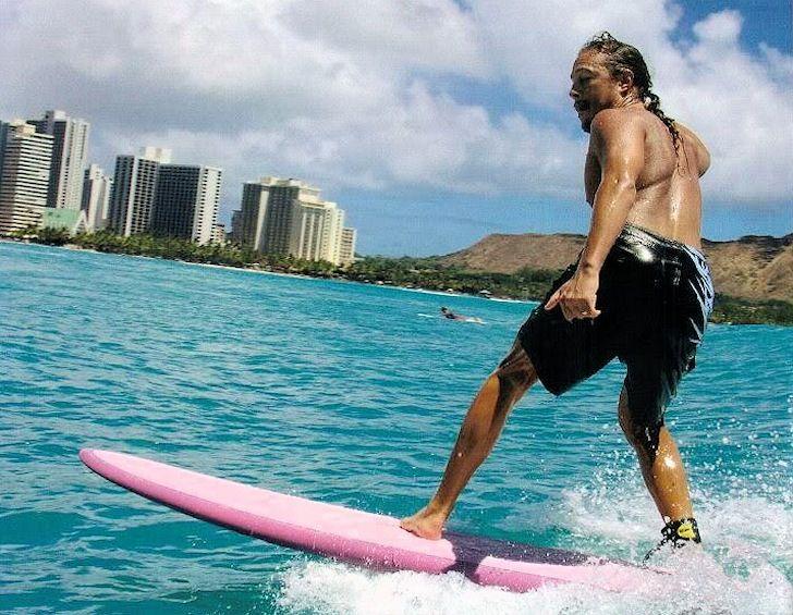 Kirk Hammet: pink is a great color