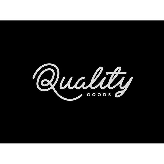 Quality Goods #lettering by Nicolas Fredrickson