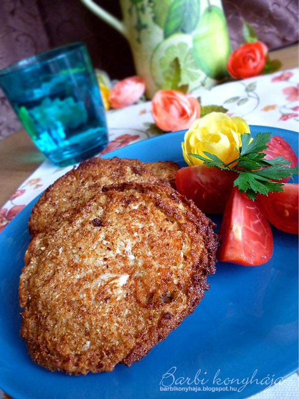 Barbi konyhája: Karfiol pogácsa - akár Paleosan is