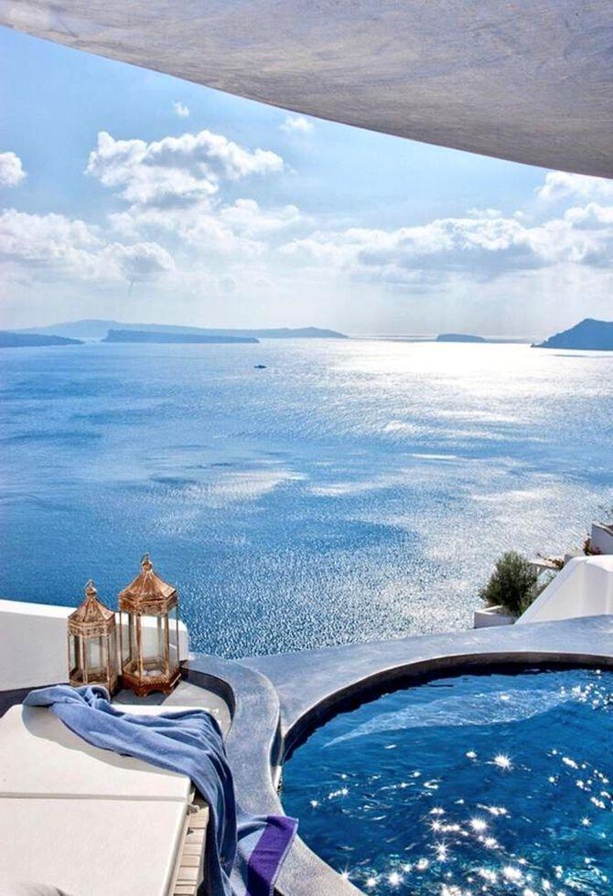 Relax… Para isto nada melhor do que uma piscina espetacular e que lhe ofereça como bônus, vistas de tirar o fôlego. A seguir, uma seleção…
