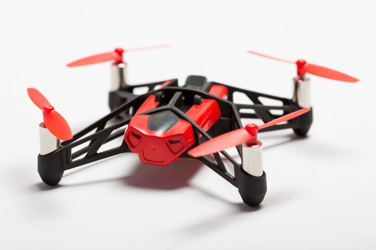 Parrot Mini Drone Rolling Spider Red copy