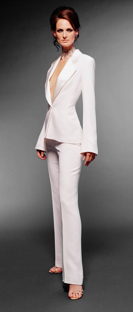 Bridal Wedding Trouser Suit