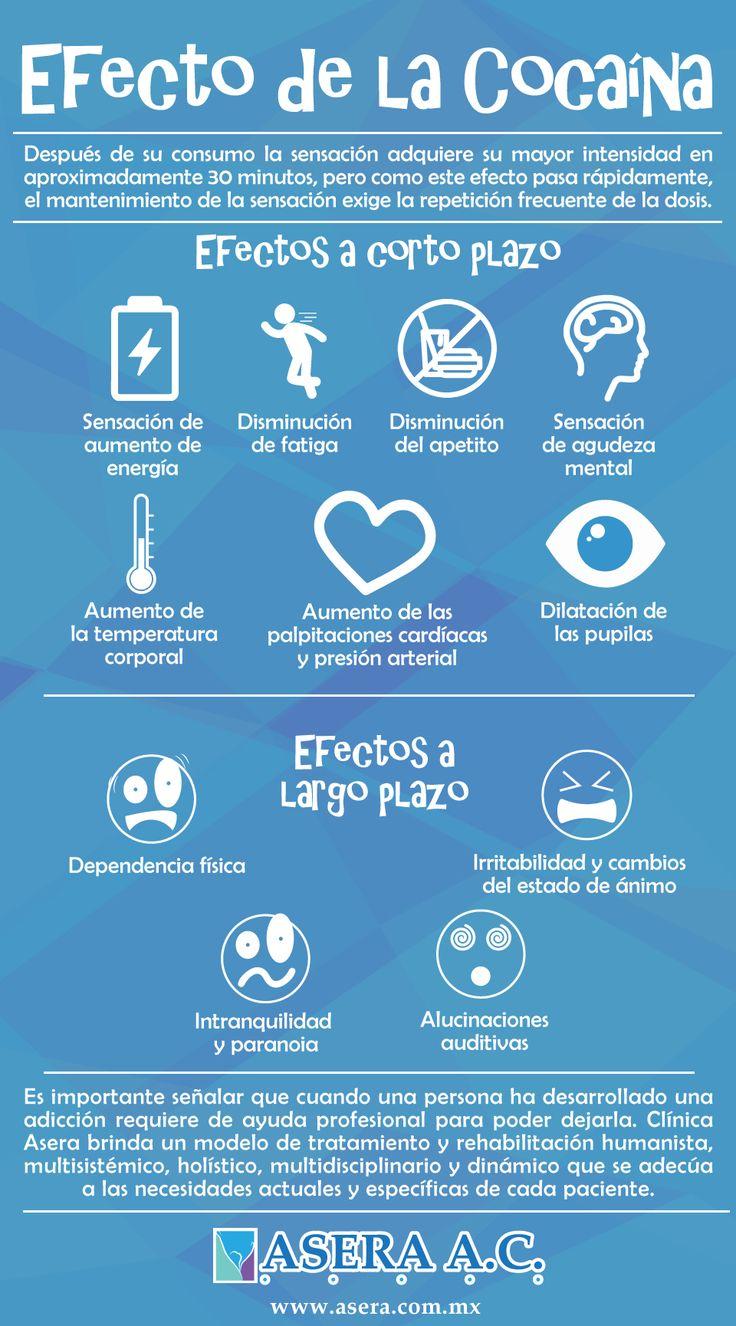 La cocaína es una droga ilegal y está prohibida por los daños que provocan al individuo, a la familia y a la sociedad, la suspensión súbita de su consumo, o bien una sobre dosis puede llevar a la muerte. #AseraAC #Infografía #Cocaína