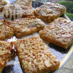 Blitzkuchen vom Blech mit Mandeln, Mandelkuchen, schneller Kuchen, einfacher Kuchen http://de.allrecipes.com/rezept/5747/blitzkuchen-vom-blech-mit-mandeln.aspx
