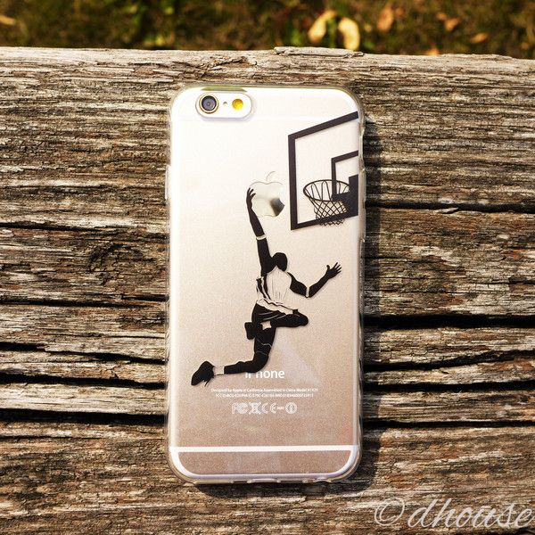MADE IN JAPAN Soft Clear TPU Case Basketball Player design for iPhone – Dhouse USA
