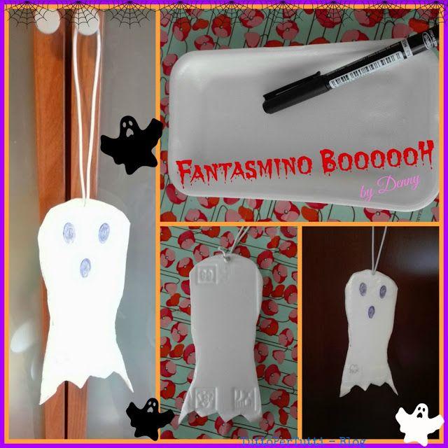 TuttoPerTutti: FANTASMINO BOOOOOH Velocissima decorazione per Halloween ideale anche per esterni! http://tucc-per-tucc.blogspot.it/2016/10/fantasmino-boooooh.html