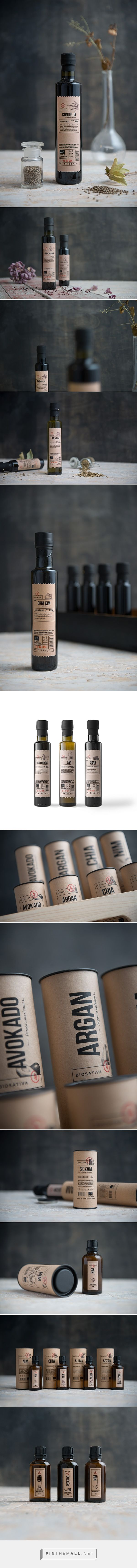 Biosativa   Oil Packaging by Negra Nigoevic